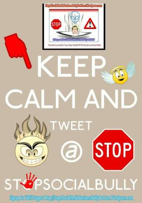 ollow us on TWITTER for NEWS and social bully management safety and strategies at: http://twitter.com/stopsocialbully